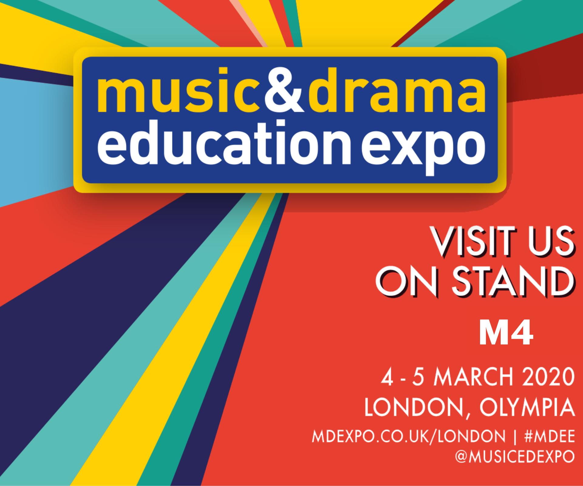 Music & Drama Education Expo London 2020